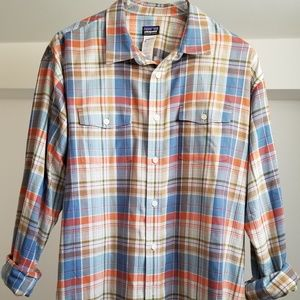 Patagonia Mens Casual Dress Shirt XL